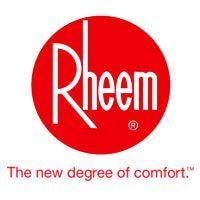 pro rec plumbing Rheem logo plumbing solutions